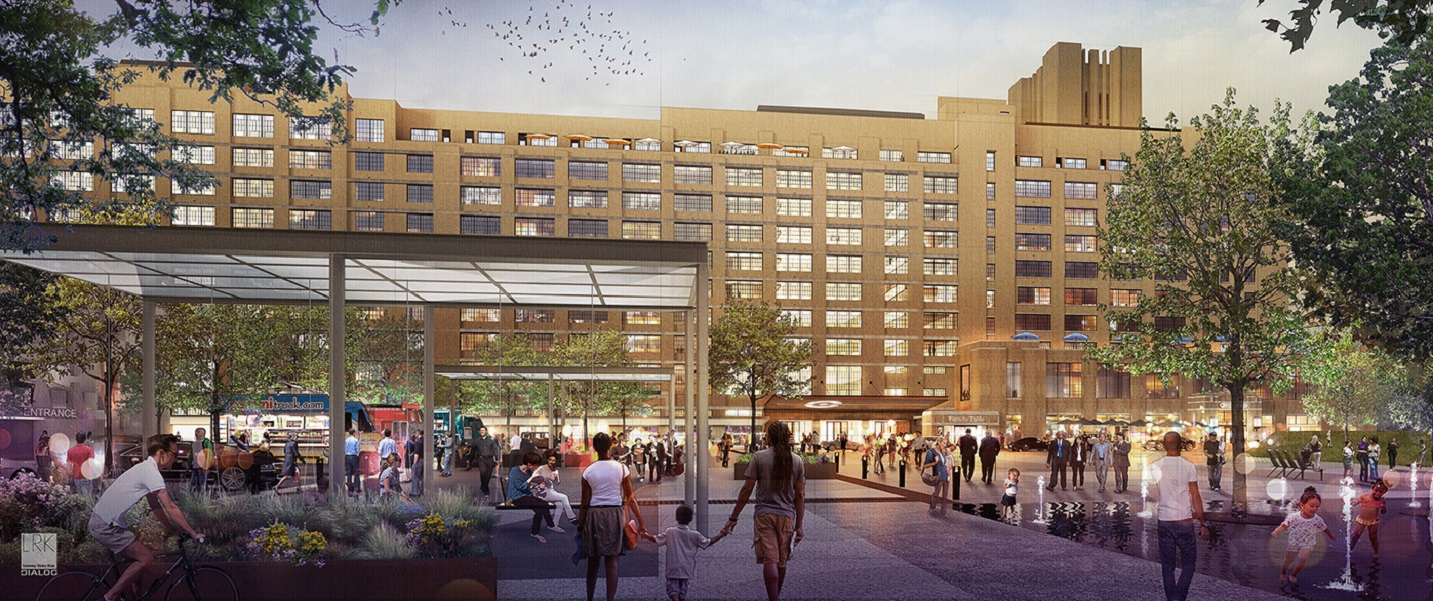 Crosstown Concourse, a successful creative placemaking project